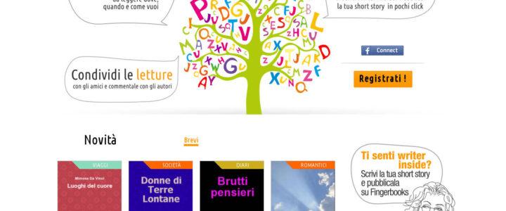 FingerBooks, scrivere e leggere racconti brevi